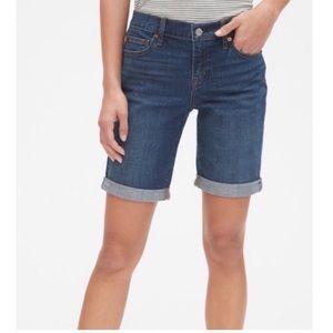 """NWT GAP High Waist 7"""" Denim Shorts"""